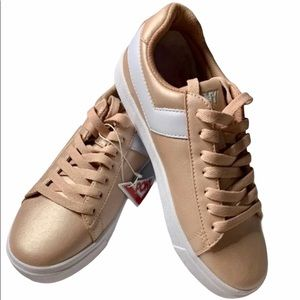 Roxy Classic Low Top Rose Gold Sneakers